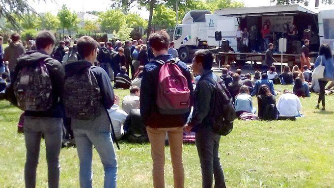 Le concert des élèves de la maison des lycéens